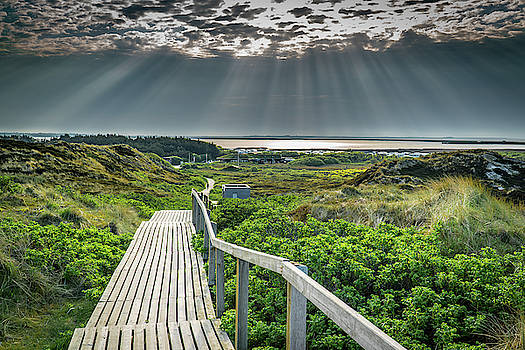 Sunrise on the island of Sylt by Karsten Eggert