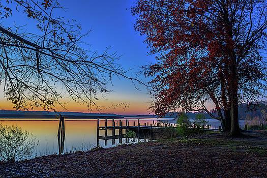 Sunrise on the Patuxent by Cindy Lark Hartman