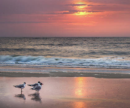 James Woody - Sunrise on Tybee Island