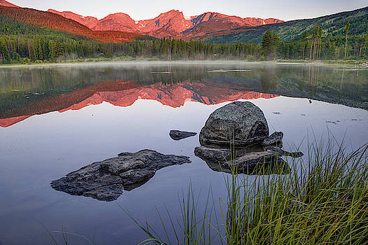 Sunrise Over Sprague Lake - Rocky Mountain National Park by Gregory Ballos