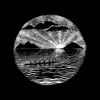 Sunrise Paddle by Kirsten Carlson