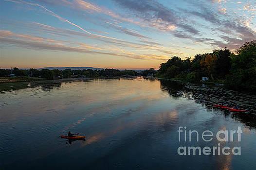 Sunrise Paddle by Mike Dawson