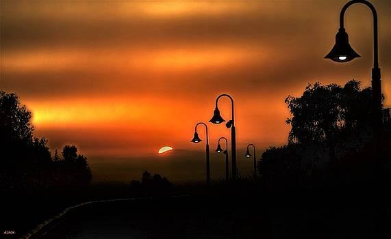 Sunrise,  Signal Hill by John R Williams