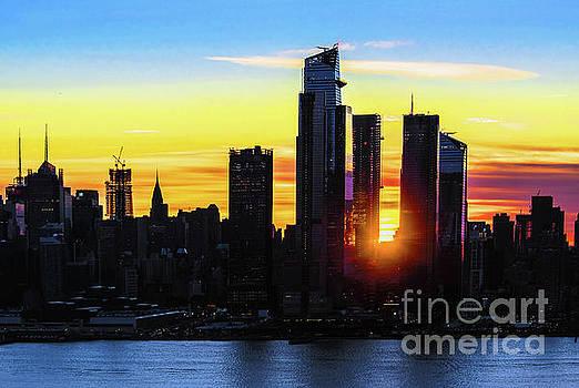 Regina Geoghan - Sunrise View Hudson Yards NYC