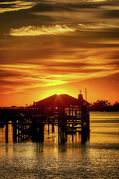 Sunrse on the Intracoastal Waterway by Nick Noble