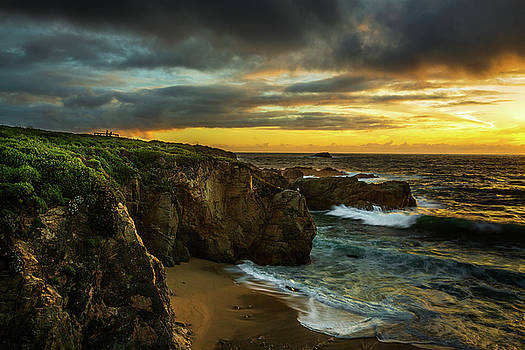 Rick Strobaugh - Sunset along the Shore