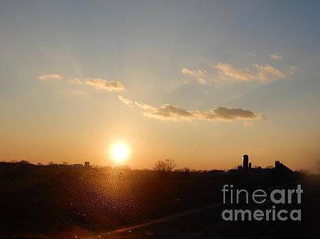Christine Clark - Sunset Amish Vista