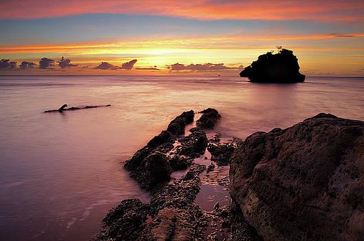 Sunset at Columbus Bay by Trinidad Dreamscape