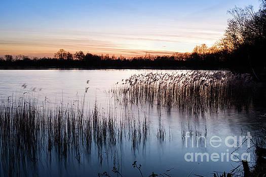 Sunset at De Wijers by Johan Vanbockryck