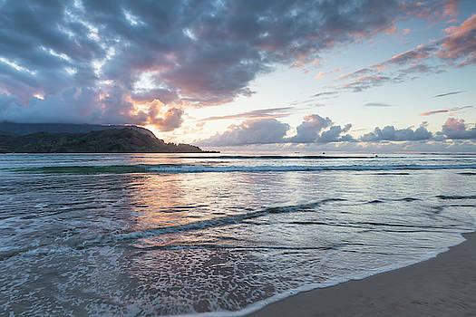 Sunset at Hanalei Bay, No. 2 by Belinda Greb