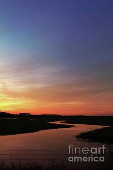 Sunset at Holkham by John Edwards