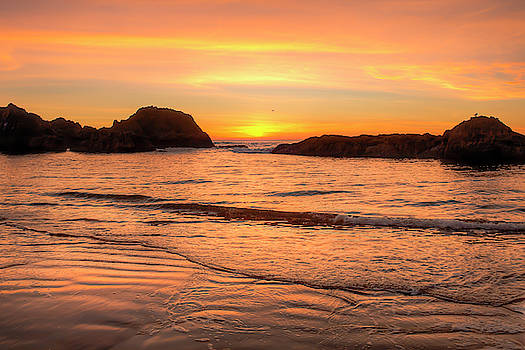 Sunset at Seal Rock 00997 by Kristina Rinell