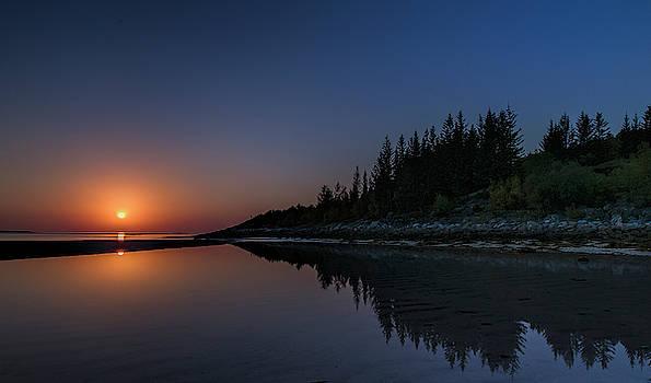 Sunset at Senja island by Frank Olsen