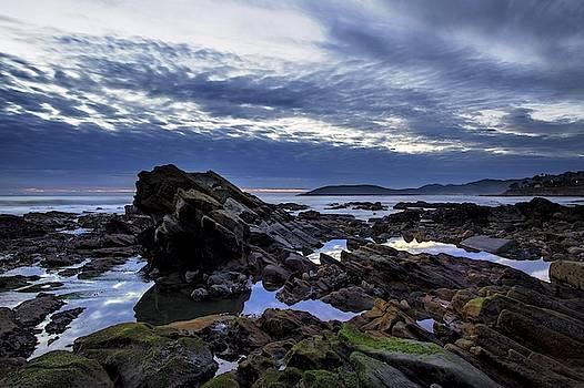 Sunset at Shell Beach by John Rodrigues