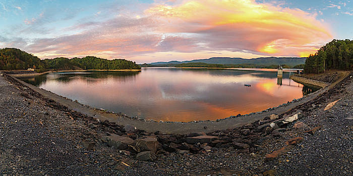 Sunset at South Holston by Greg Booher