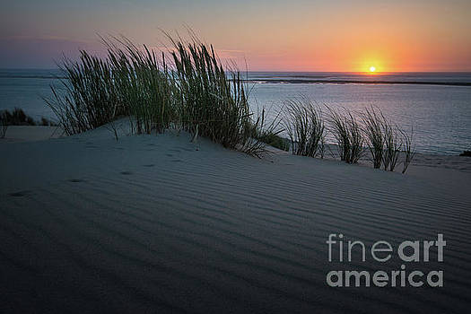 Sunset At The Dunes by Hannes Cmarits
