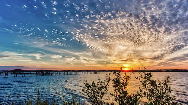 Sunset Cotton Balls by Dillon Kalkhurst