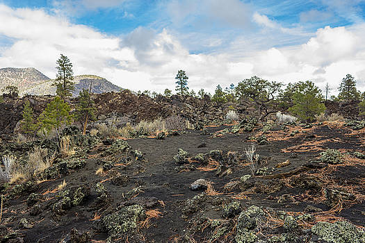 Sunset Crater National Park View 1 by G Matthew Laughton