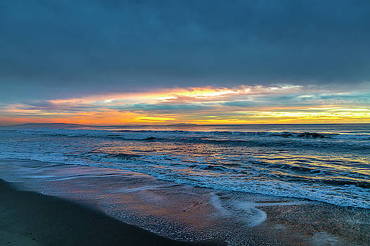 Sunset Fire Over Catalina Island 2 by Gene Parks