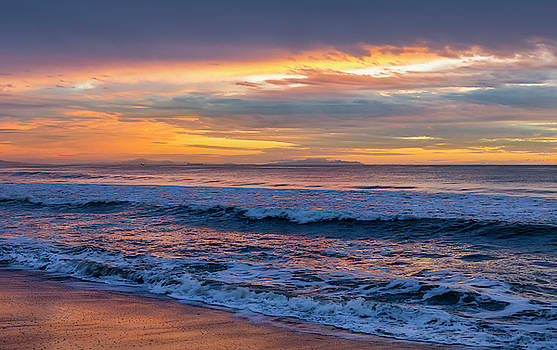 Sunset Fire Over Catalina Island by Gene Parks