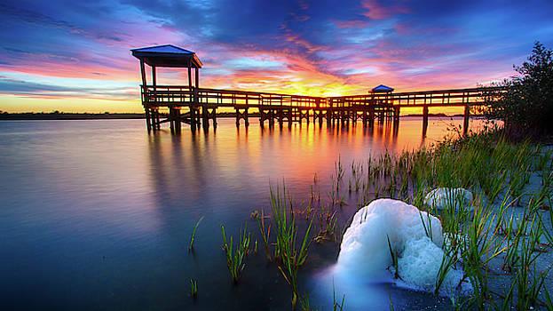 Sunset Foam by Dillon Kalkhurst