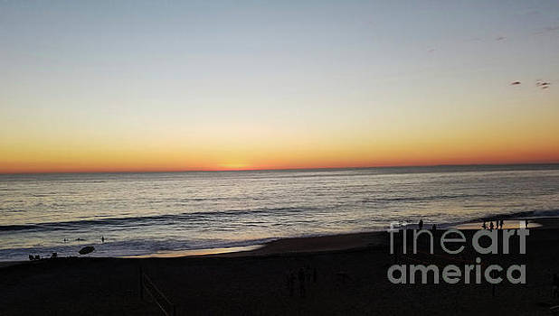 Sunset In Carlsbad 2  by Tammera Malicki-Wong