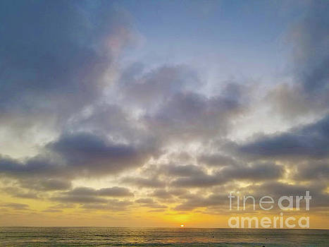 Sunset In Carlsbad 3 by Tammera Malicki-Wong