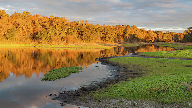Sunset in Florida by Linda Burek