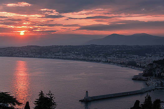 Sunset in Nice by Tailor Hartman