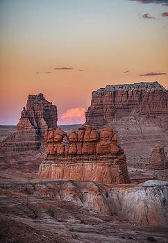 Sunset in Southern Utah by Marybeth Kiczenski