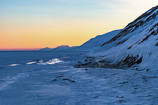 Sunset in the Arctic by Kai Mueller