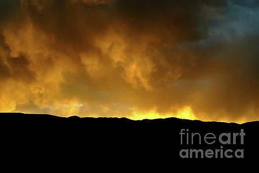 Sunset inferno by Wendy Girard