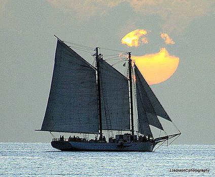 sunset Key West by Jonathan Jackson Coe