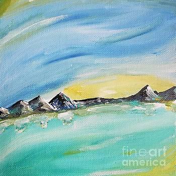 Sunset Lake by Ariana Dagan