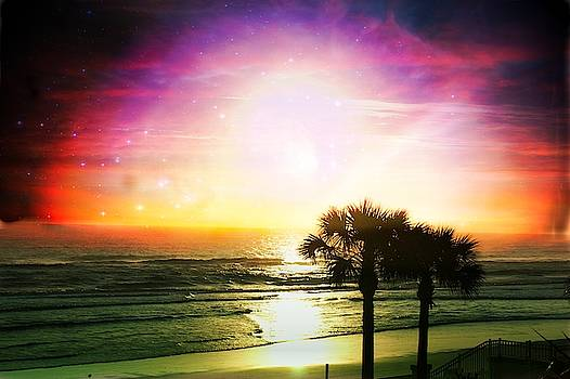 Sunset Madness by Yvonne Sewell