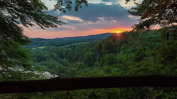 Sunset on the Himmelreich, Southern Harz by Andreas Levi