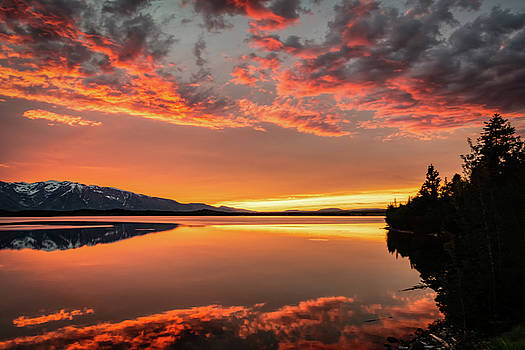 Sunset Reflection by John Wilkinson