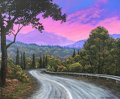 Sunset Road by Michael Parent