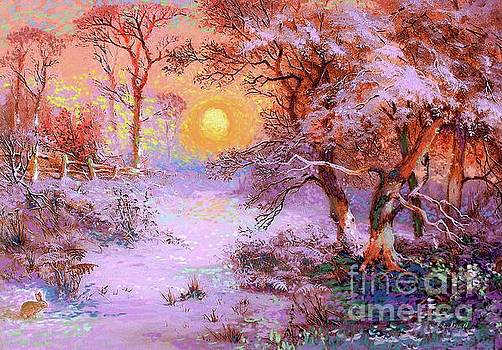 Sunset Snow by Jane Small