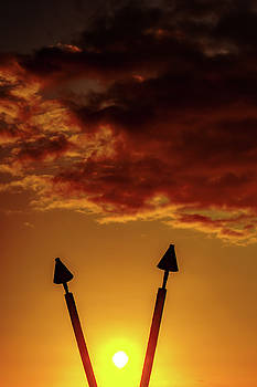 Sunset V by John Bauer