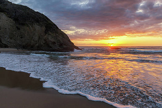 Cliff Wassmann - Sunset Waves Dana Point