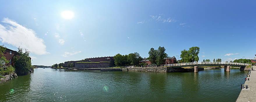 Suomenlinna panorama by Jouko Lehto