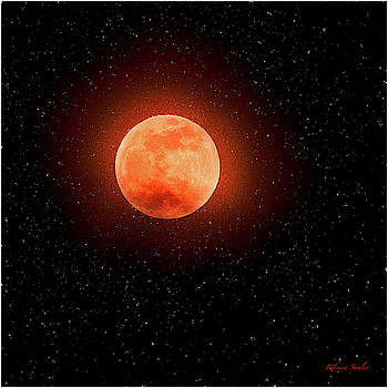 Super Blood Wolf Moon by Rebecca Samler
