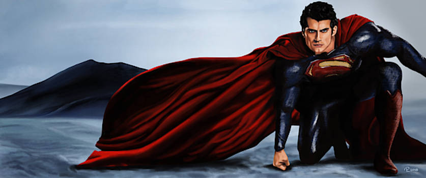Superman by Pia Langfeld