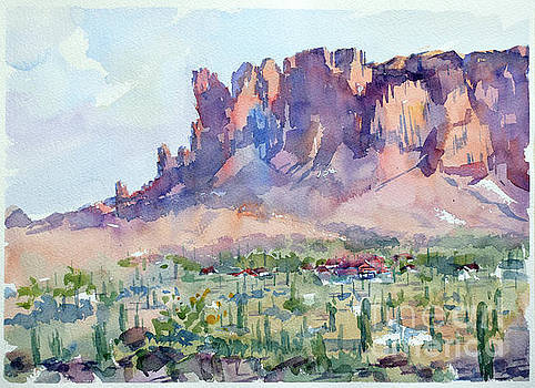 Superstition mountains  by Igal Kogan