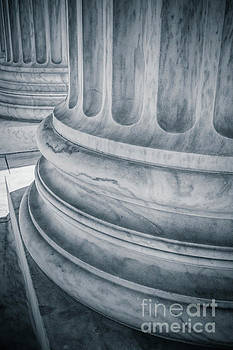 Supreme Court Columns Washington DC by Edward Fielding