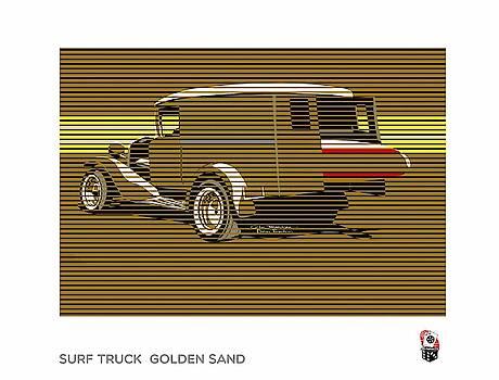 Surf Truck Golden Sand by MOTORVATE STUDIO Colin Tresadern