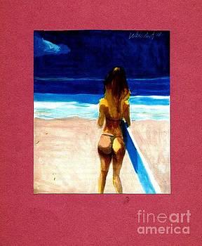 Surfer Girl by Harry WEISBURD