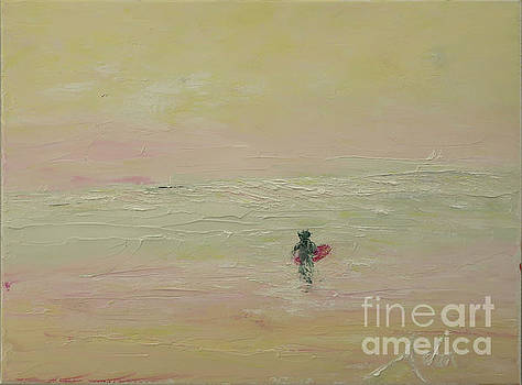 Surfing the Light by Felipe Adan Lerma