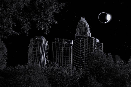 Surreal Charlotte Eclipse by Christine Buckley